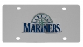 Seattle Mariners MLB Stainless Steel License Plate