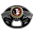 Florida State Seminoles NCAA Bottle Opener Tailgater Belt Buckle