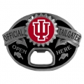 Indiana Hoosiers NCAA Bottle Opener Tailgater Belt Buckle