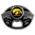 Iowa Hawkeyes NCAA Bottle Opener Tailgater Belt Buckle