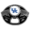 Kentucky Wildcats NCAA Bottle Opener Tailgater Belt Buckle