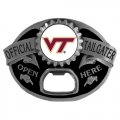 Virginia Tech Hokies NCAA Bottle Opener Tailgater Belt Buckle
