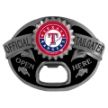 Texas Rangers MLB Bottle Opener Tailgater Belt Buckle