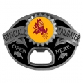 Arizona State Sun Devils NCAA Bottle Opener Tailgater Belt Buckle