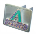 Arizona Diamondbacks MLB Pewter Trailer Hitch Cover