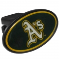 Oakland Athletics MLB Oval Hitch Cover