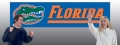 Florida Gators 8' x 2' Embroidered Party Banner