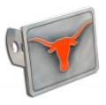 Texas Longhorns NCAA Pewter Trailer Hitch Cover