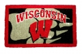 "Wisconsin Badgers NCAA 18"" x 30"" Welcome Mat"