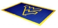 West Virginia Mountaineers NCAA 4' x 6' Area House Rug