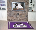 Colorado Rockies MLB Area House Rugs
