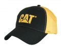 Caterpillar CAT Black & Gold Mesh Cap