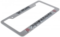 NC State Wolf Pack NCAA Chrome 3D License Plate Frame