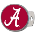 Alabama Crimson Tide Oval Hitch Cover