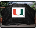 Miami Hurricanes NCAA Vinyl Gas Grill Covers