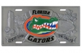 Florida Gators NCAA 3D Pewter License Plate