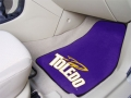University of Toledo Rockets Universal 2pc Car Floor Mats