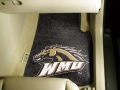Western Michigan Broncos 2pc Car/SUV/Truck Mats