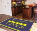 Michigan Wolverines NCAA Area House Rugs