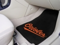 Baltimore Orioles MLB Universal 2pc Car Floor Mats