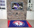 Texas Rangers MLB Area House Rugs