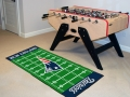 "New England Patriots 29.5"" x 72"" NFL Office/House Football Field Floor Runner"