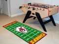 "Kansas City Chiefs 29.5"" x 72"" NFL Office/House Football Field Floor Runner"
