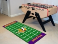 "Minnesota Vikings 29.5"" x 72"" NFL Office/House Football Field Floor Runner"