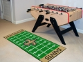 "New Orleans Saints 29.5"" x 72"" NFL Office/House Football Field Floor Runner"