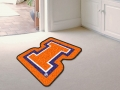 Illinois Fighting Illini Mascot Cut-Out Floor Mat