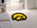 Iowa Hawkeyes Mascot Cut-Out Floor Mat