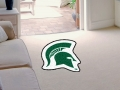Michigan State Spartans Mascot Cut-Out Floor Mat
