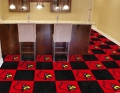 "Louisville Cardinals NCAA 18"" x 18"" Carpet Tiles"
