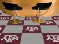 "Texas A&M Aggies NCAA 18"" x 18"" Carpet Tiles"