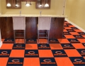 "Chicago Bears NFL 18"" x 18"" Carpet Tiles for Man Cave or Game Room Bar"