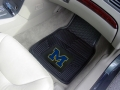 Michigan Wolverines Premium All Weather 2pc Rubber Car Floor Mats