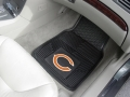 Chicago Bears Premium All Weather 2pc Rubber Car Floor Mats