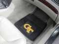 Georgia Tech Yellow Jackets Premium All Weather 2pc Rubber Car Floor Mats