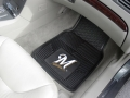 Milwaukee Brewers Premium All Weather 2pc Rubber Car Floor Mats