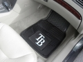 Tampa Bay Rays Premium All Weather 2pc Rubber Car Floor Mats