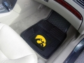 Iowa Hawkeyes Premium All Weather 2pc Rubber Car Floor Mats