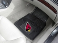 Arizona Cardinals Premium All Weather 2pc Rubber Car Floor Mats