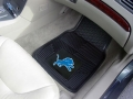 Detroit Lions Premium All Weather 2pc Rubber Car Floor Mats