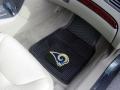St. Louis Rams Premium All Weather 2pc Rubber Car Floor Mats