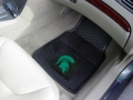Michigan State Spartans Premium All Weather 2pc Rubber Car Floor Mats