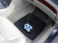 North Carolina Tar Heels Premium All Weather 2pc Rubber Front Floor Mats