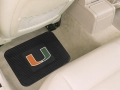 "Miami Hurricanes 14"" x 27"" All Weather Vinyl Utility Mats"