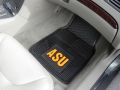 Arizona State Sun Devils Premium All Weather 2pc Rubber Car Floor Mats