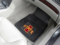 Iowa State Cyclones Premium All Weather 2pc Rubber Car Floor Mats