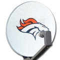 Denver Broncos NFL Satellite Dish Cover